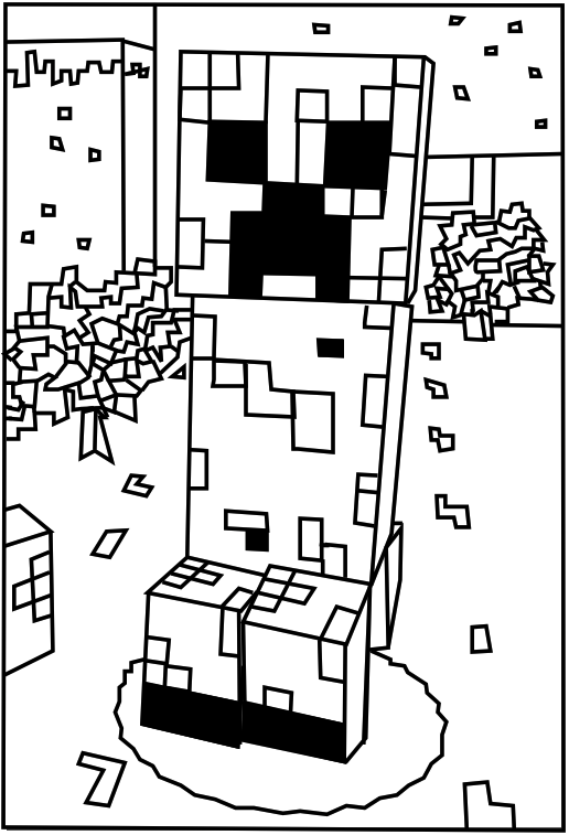 kaboose coloring pages thanksgiving in minecraft - photo #2