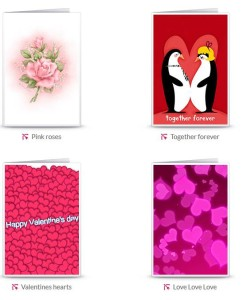 examples of the free valentines cards from greetingsisland.com